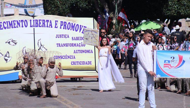 Mais uma vez Caetité é município destaque na comemoração da Independência da Bahia