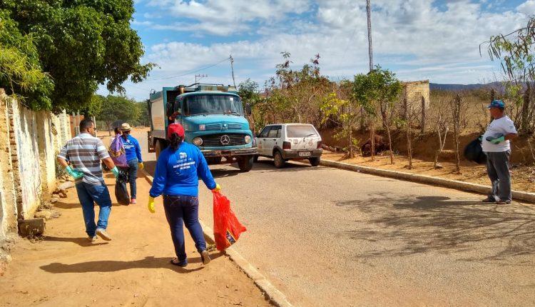 Prefeitura de Caetité realiza mutirão de combate ao mosquito Aedes Aegypti em Pajeú do Vento