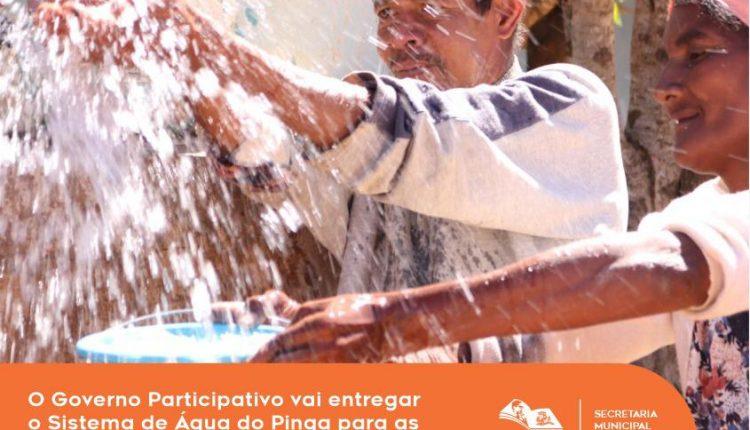 Prefeitura de Caetité vai inaugurar maior sistema de água do interior do município