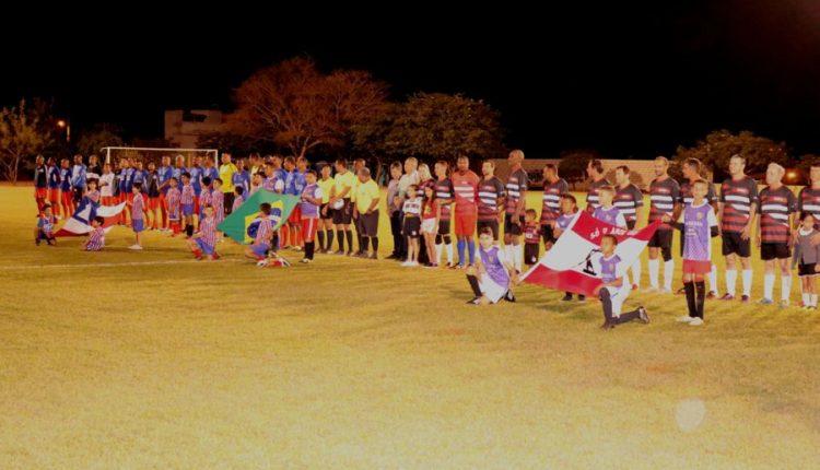 Amistoso entre veteranos: Seleção de Caetité enfrentou a Seleção Baiana