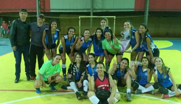 Vôlei feminino de Caetité é campeão de intermunicipal em Rio do Antônio