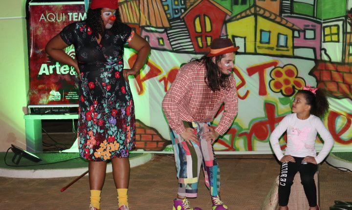 Prefeitura de Caetité realizou mais uma edição do Circuito Municipal de Cultura 'Espetáculo na Rua'