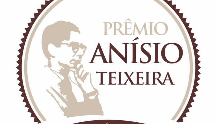 Abertas inscrições para o Prêmio Anísio Teixeira; profissionais da educação poderão inscrever até 19 de setembro
