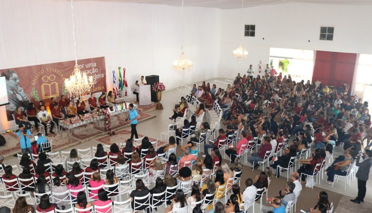 Prefeitura realiza abertura da Jornada Pedagógica e anuncia aumento de 11% no salário dos professores