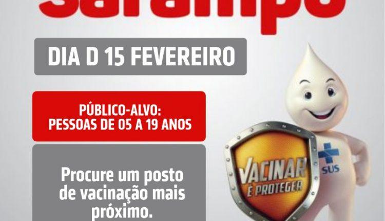 Caetité promoverá campanha de vacinação contra o sarampo