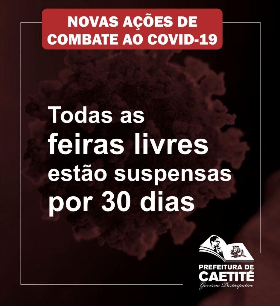 Prefeitura de Caetité adota novas medidas de enfrentamento ao coronavírus