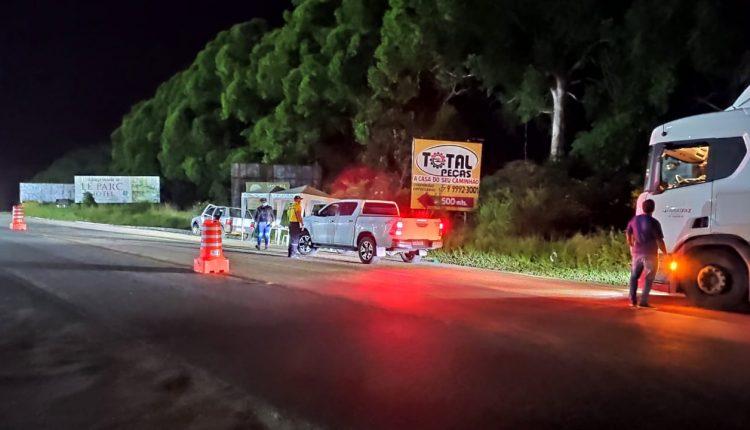 Vigilância monta barreiras nas rodovias federais que cortam Caetité