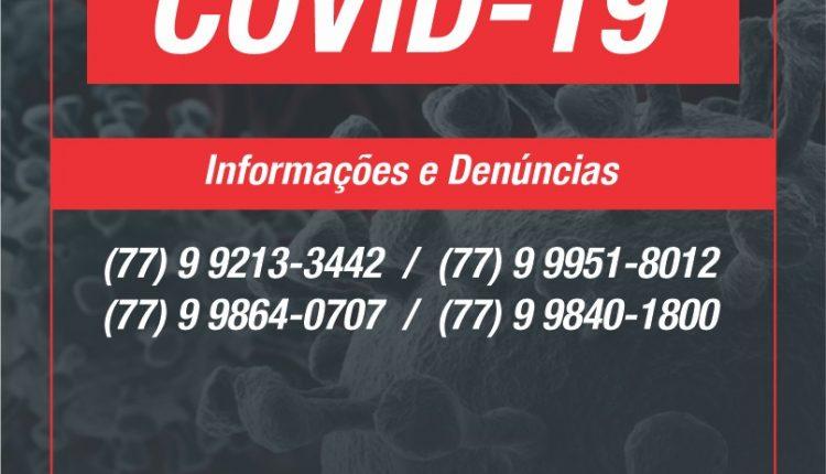 Prefeitura disponibiliza central de atendimento para informações do coronavírus